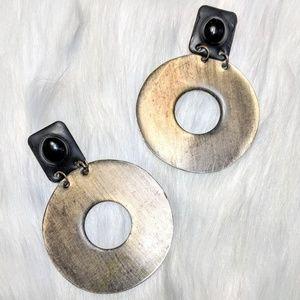 Jewelry - Artisan Made Statement Hoops
